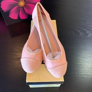 Restricted Flats in Blush Size 8.5